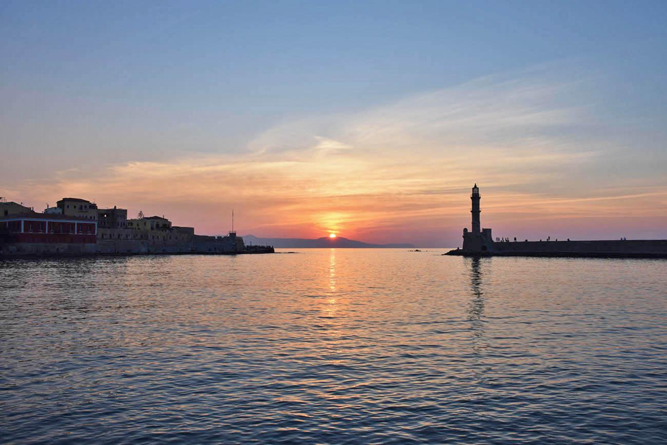 Quantos dias ficar em Creta - roteiro Grécia - dicas de Chania - Old Venetian Harbour