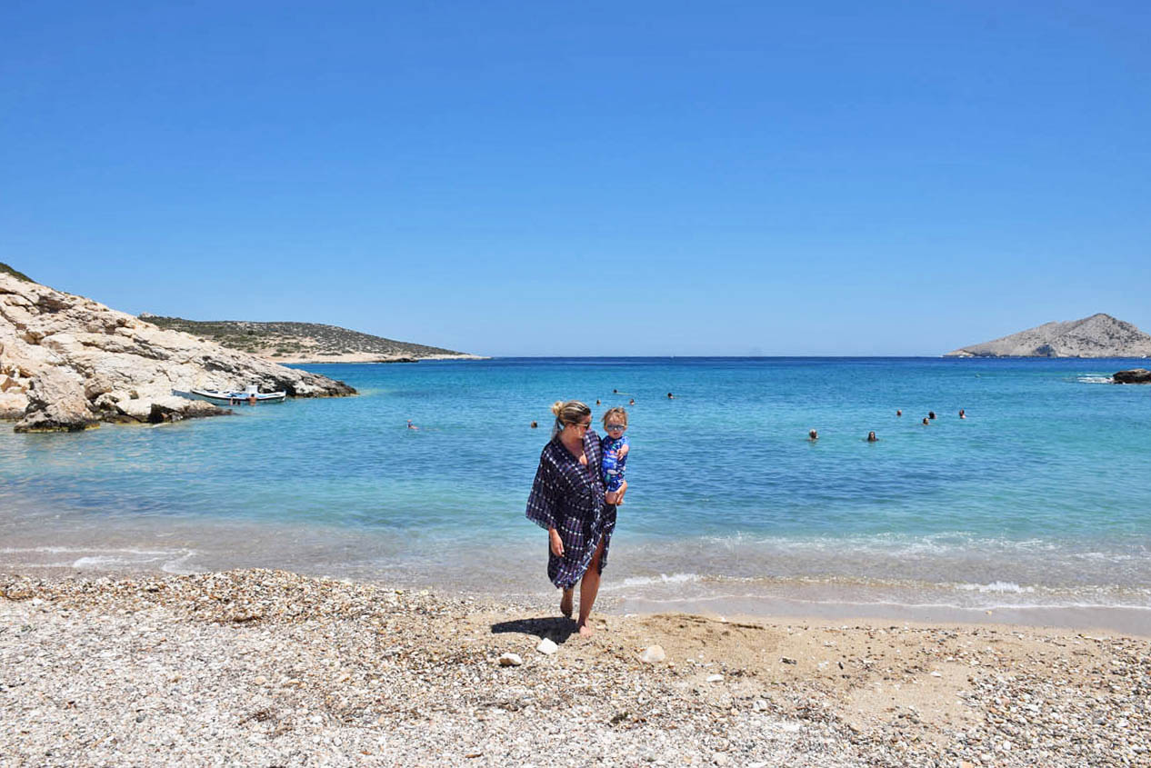 Kalotaritissa Beach Donoussa Island Greece