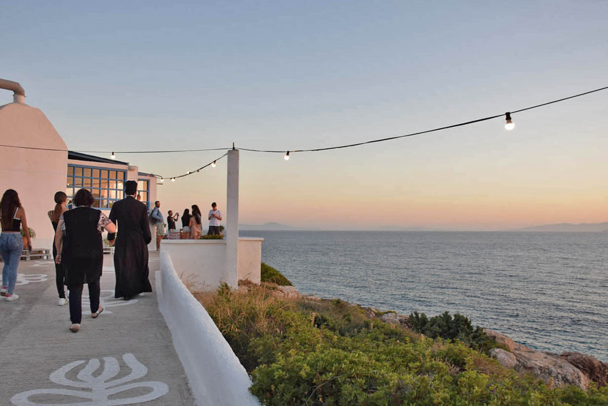 Iliovasilema Restaurant - Donoussa - Greece