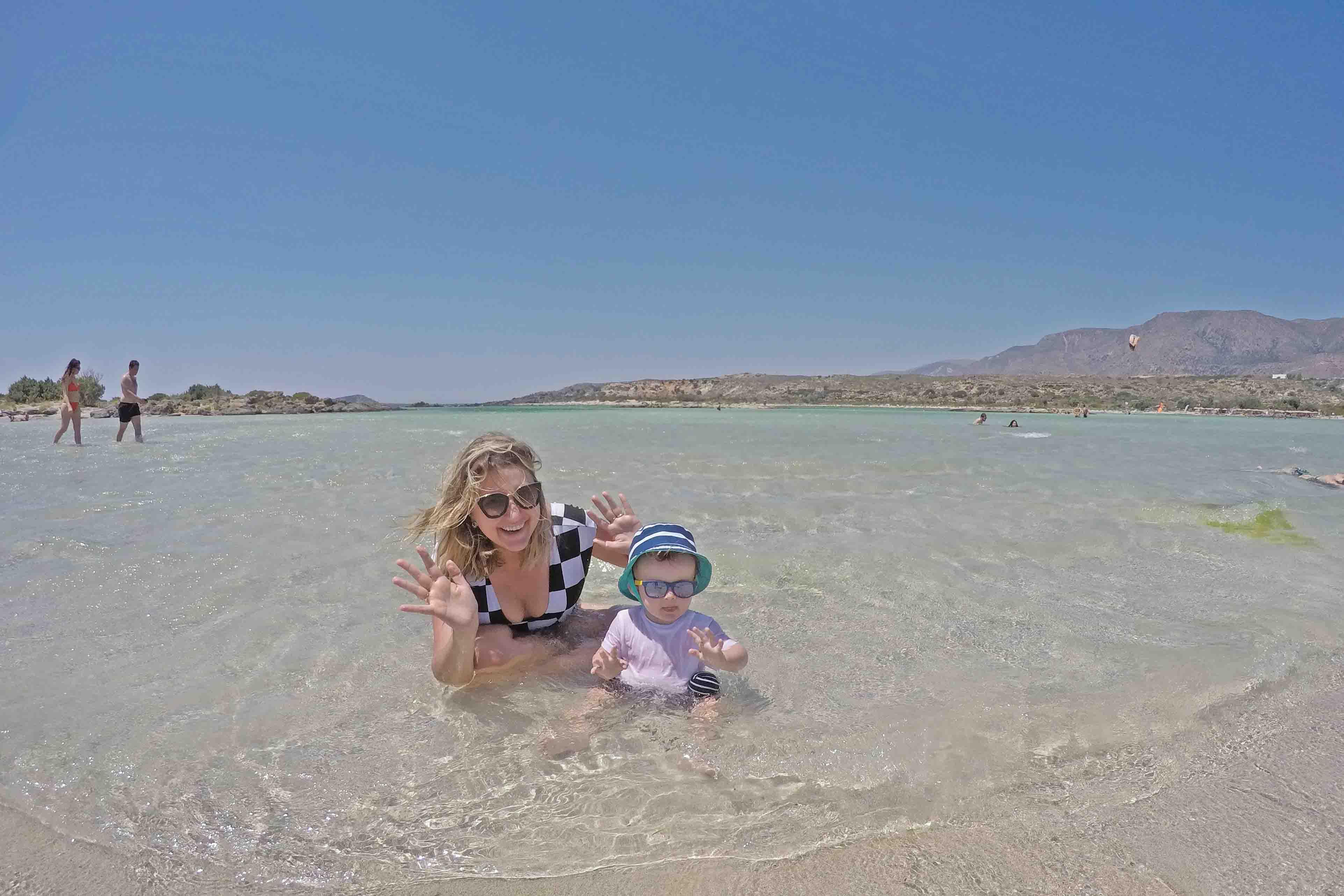 Destinos para viajar com bebê - Grécia - ilha de Creta