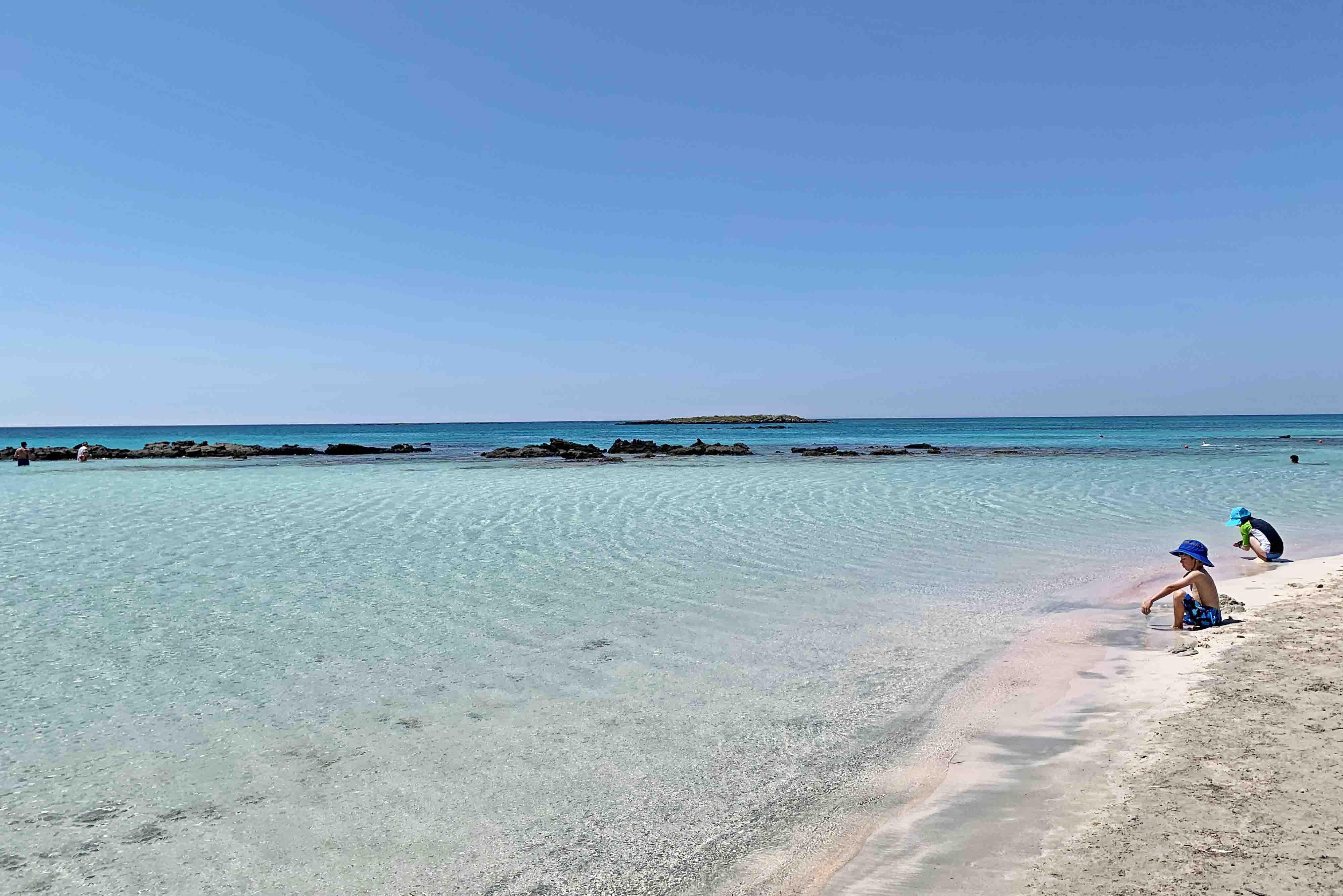 Dicas de Creta - praias - Elafonisi Beach - Chania - Grécia