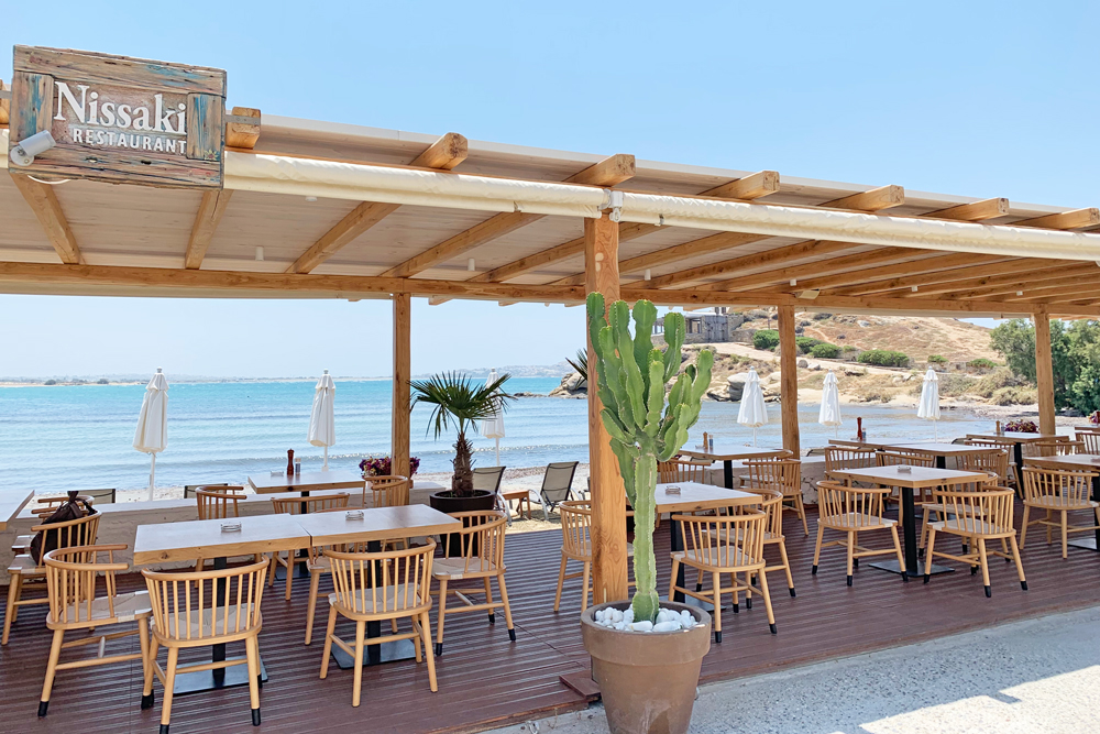 Nissaki Restaurant - where to eat Naxos
