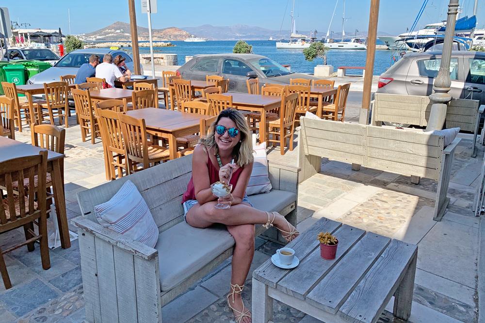 Dicas de Naxos - onde comer - restaurantes