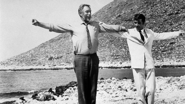 Filme Zorba o Grego - praia Stavros Beach - Chania - Creta