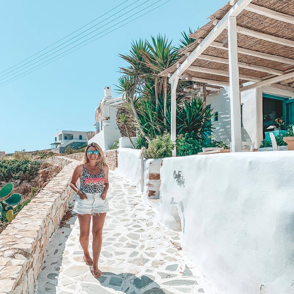 Avli Restaurant Donoussa Island Greece