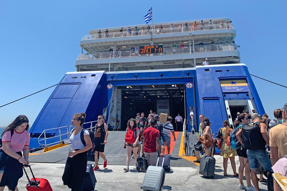 Balsa na Grécia - ferry