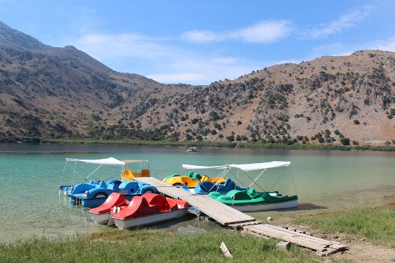 Lake Kournas - Chania - Creta