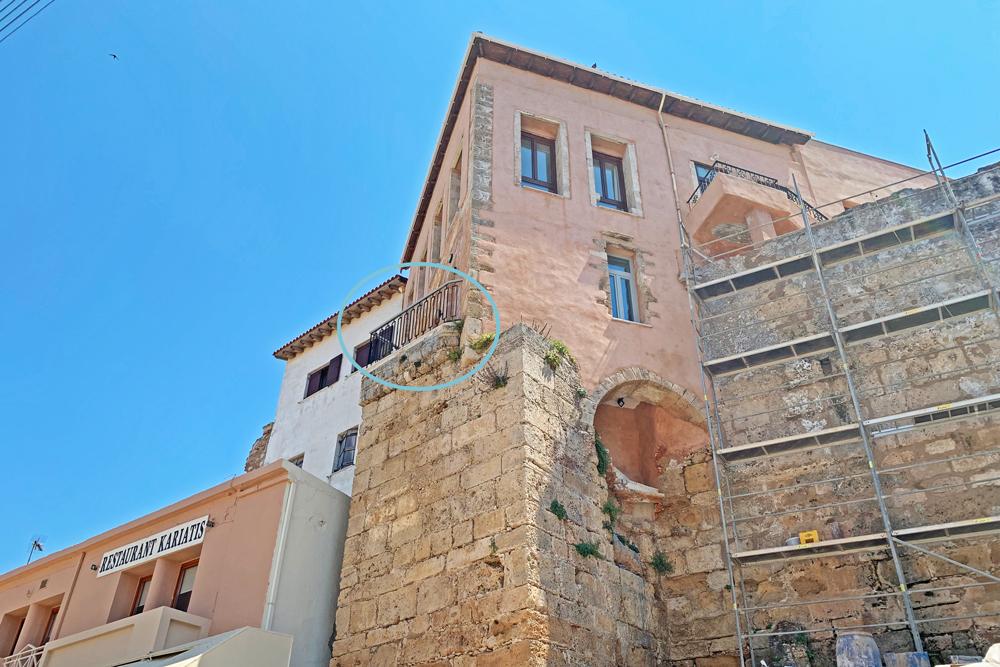 Onde ficar em Chania - Creta - hotel Madonna del Mare