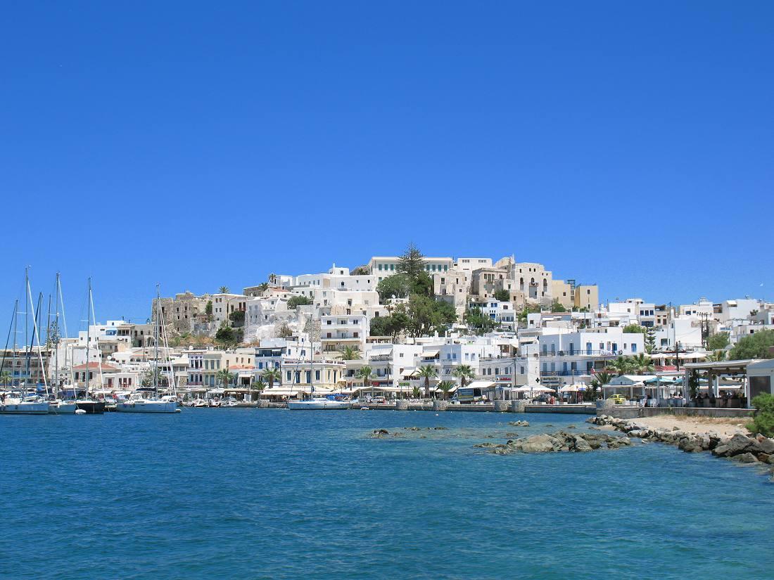 Dicas de Naxos Town - centro