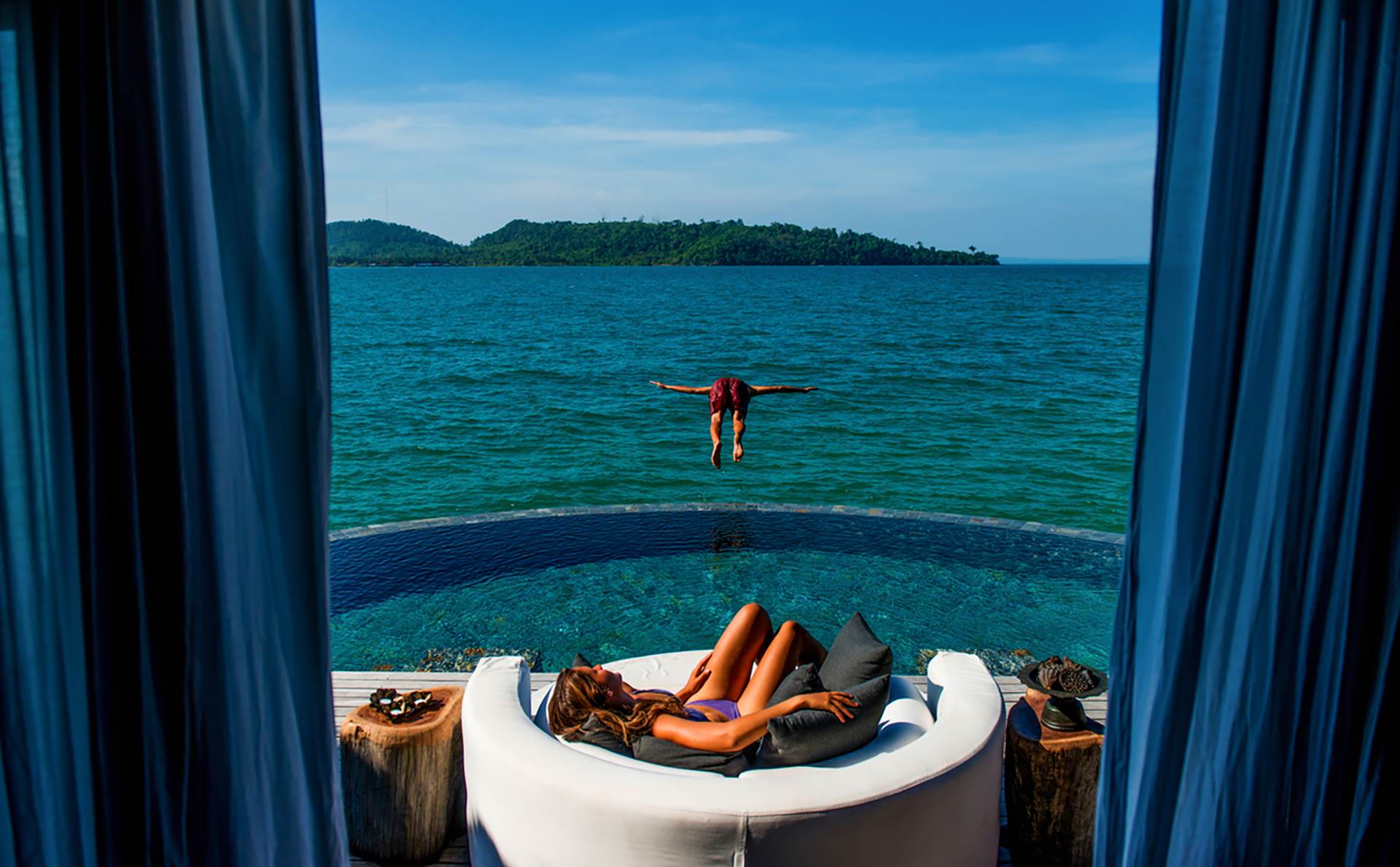 SongSaa Private Island - Cambodia - overwater bungalows