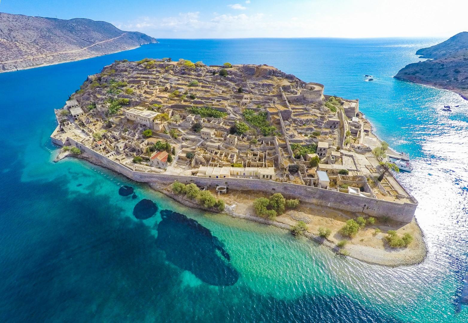 Spinalonga Fortress Island - Elounda - Creta