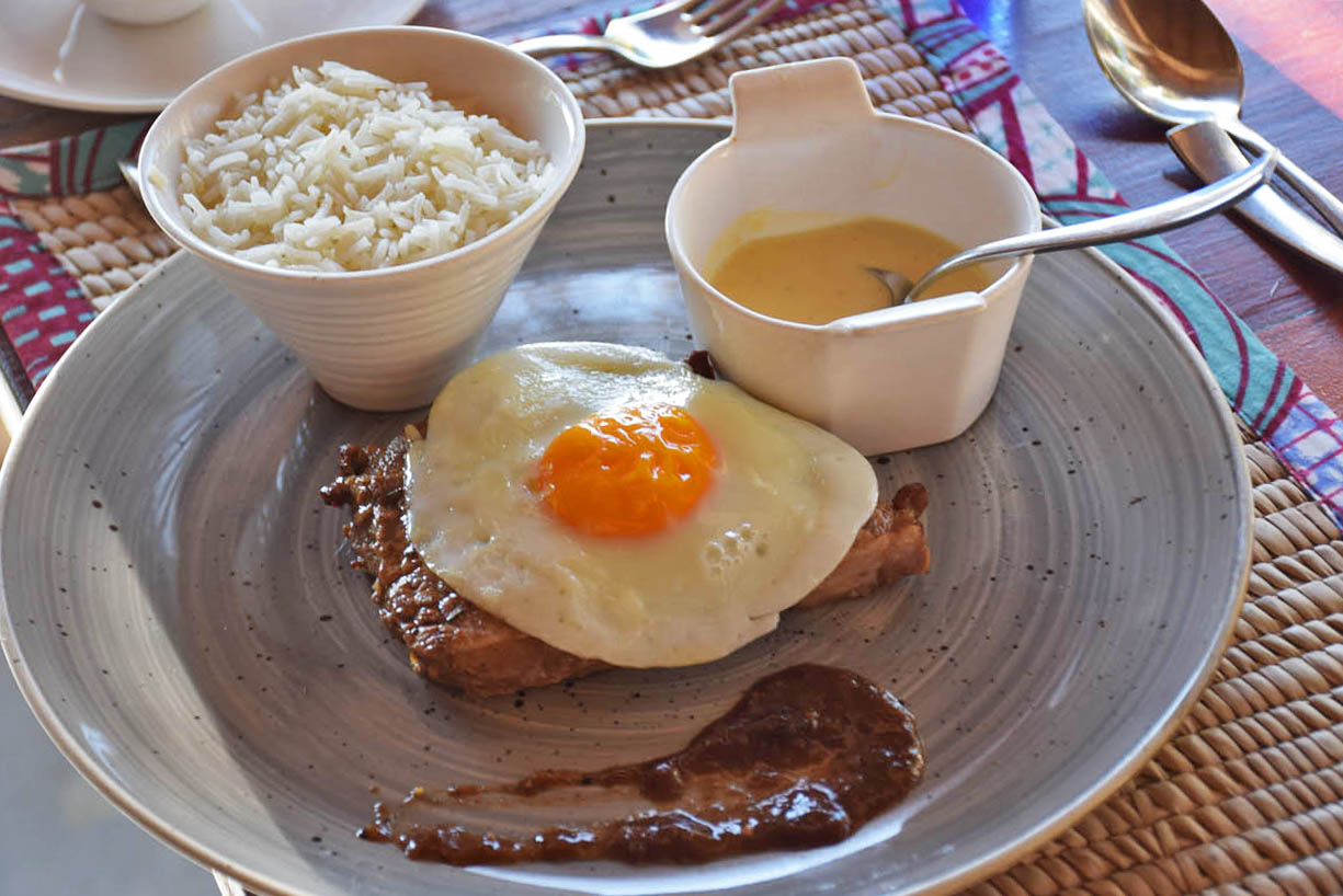 comida Azura Benguerra refeições incluídas menu