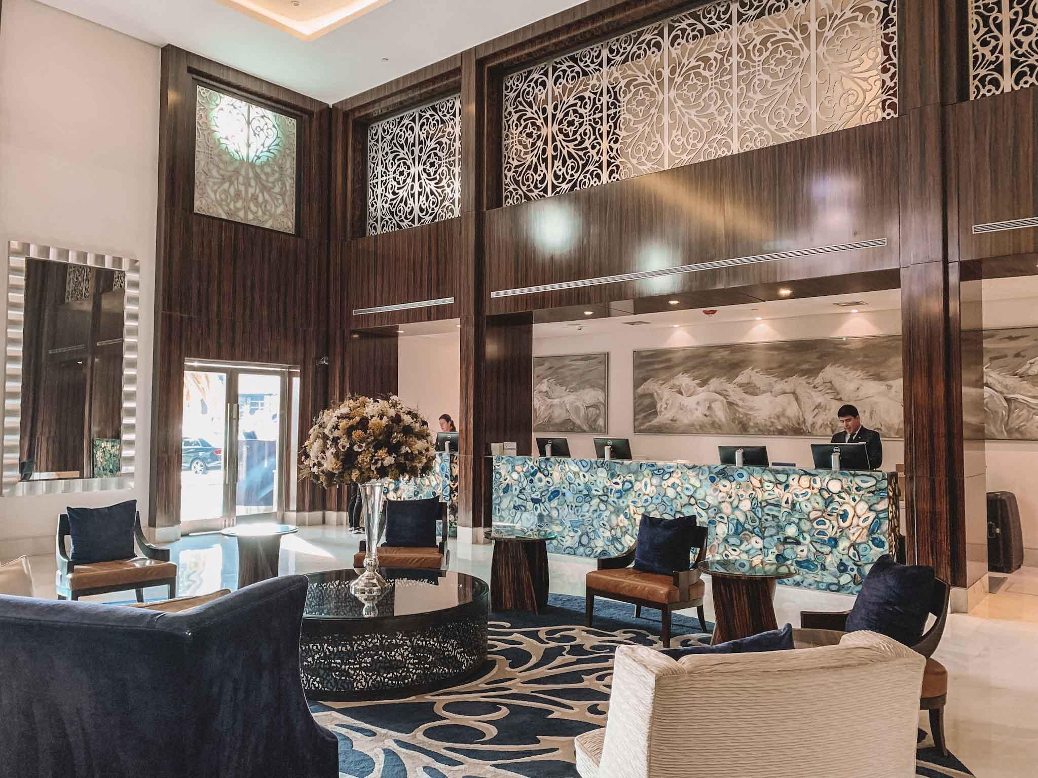 Four Seasons Buenos Aires - melhor hotel da Recoleta - lobby