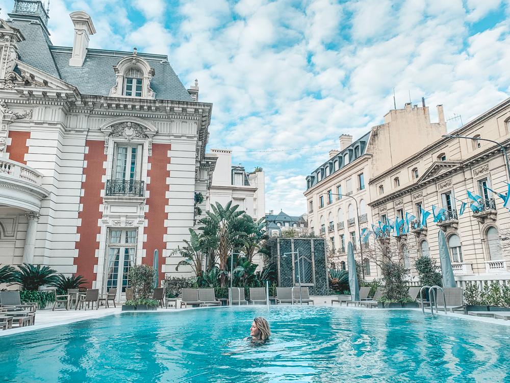 Four Seasons Buenos Aires piscina aquecida