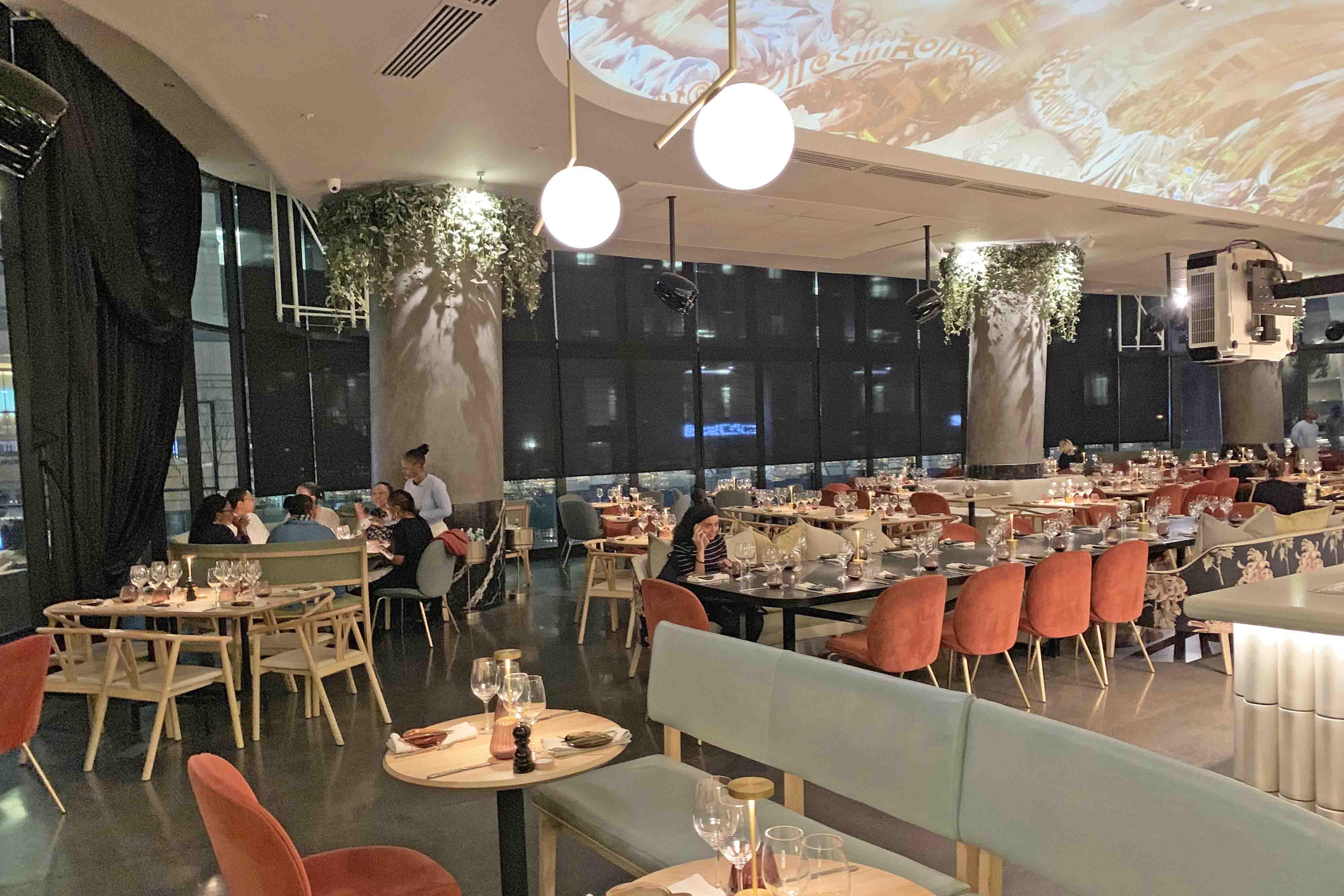 Dicas de restaurantes em Joanesburgo - onde comer - Saint Restaurant - The Marc - Sandton