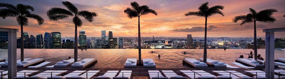 Piscina Marina Bay Sands Singapura