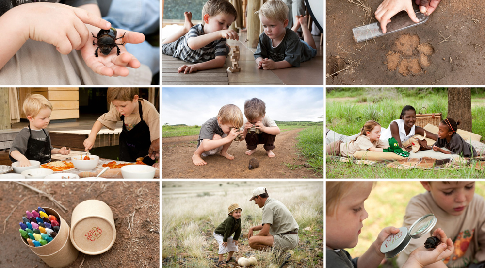 WILDChild Programm andBeyond Africa safari kids baby friendly