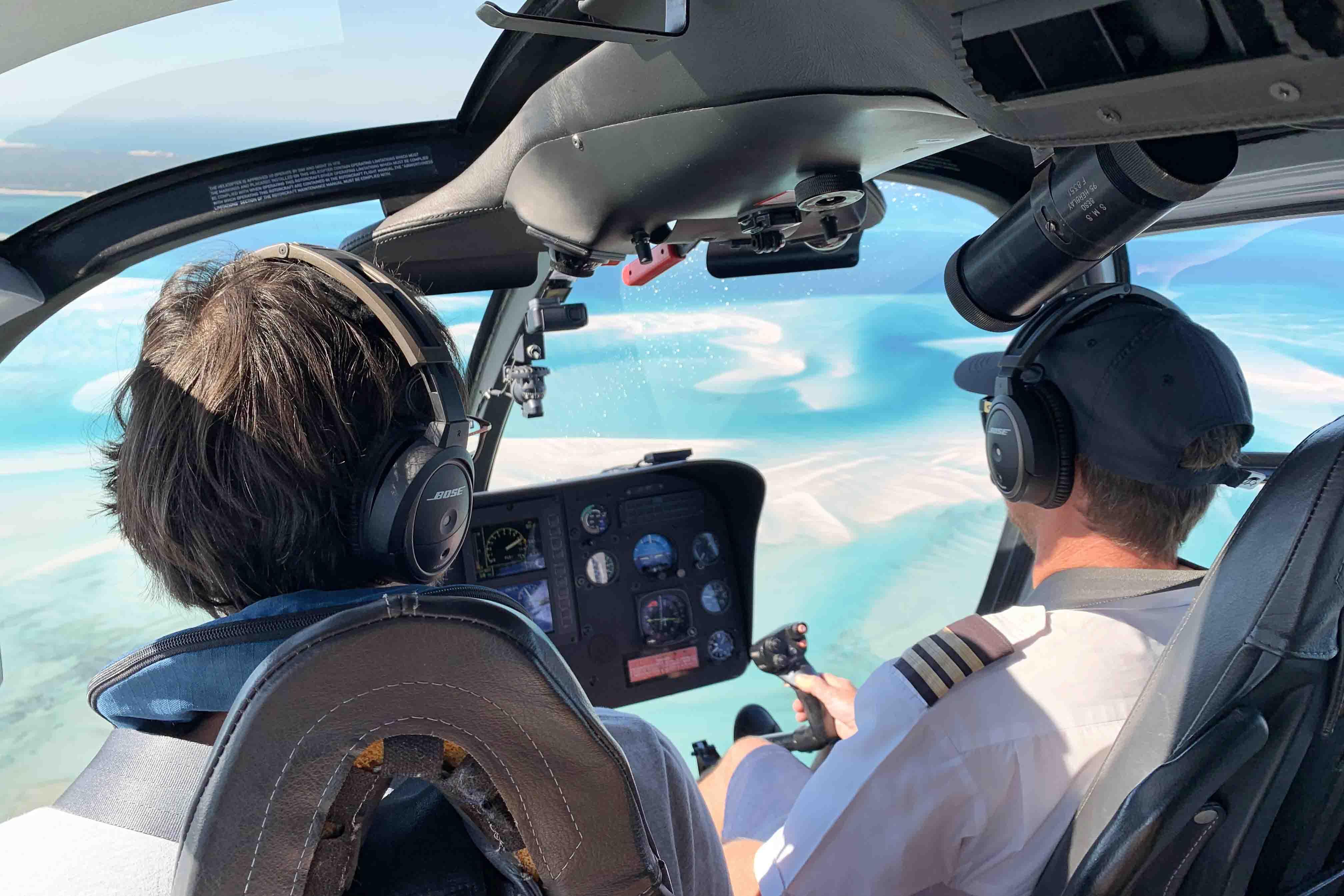azura benguerra - como chegar - transfer de helicóptero