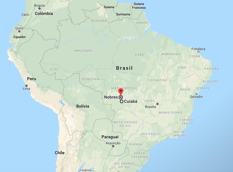 Dicas de Nobres - Mato Grosso - onde fica - localização - como chegar