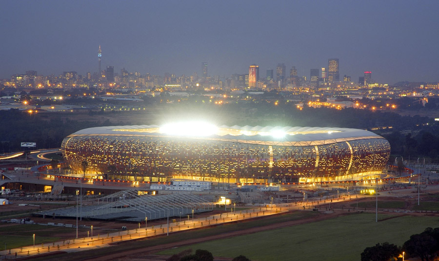O que fazer em Joanesburgo - Soccer City - estádio final da Copa do Mundo África do Sul 2010