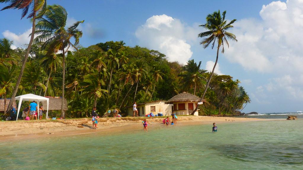 Isla Mamey - portobelo - Panamá - Praia perto da Cidade do Panamá