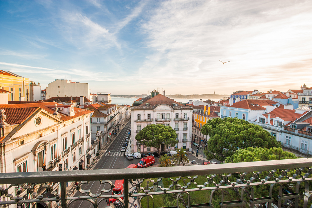 Bairro Alto Hotel - vista - suíte Alecrim