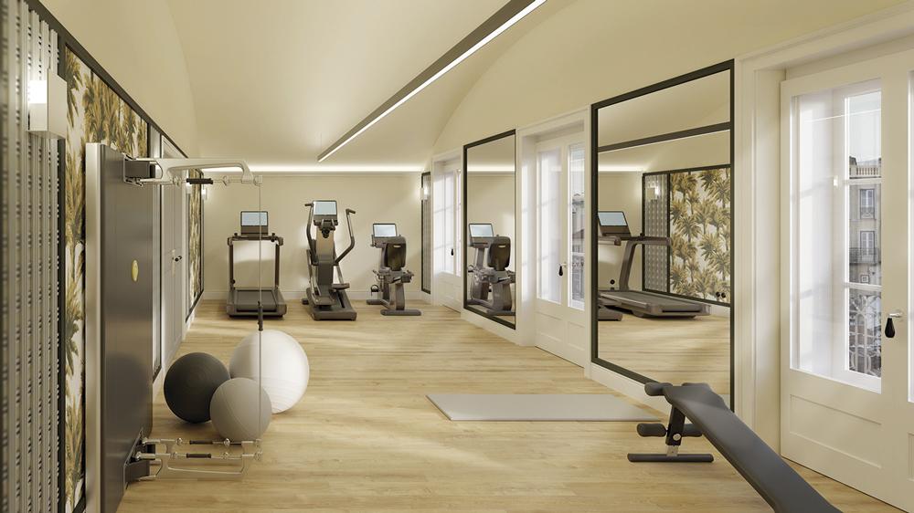 Bairro Alto Hotel Lisboa - academia fitness center spa