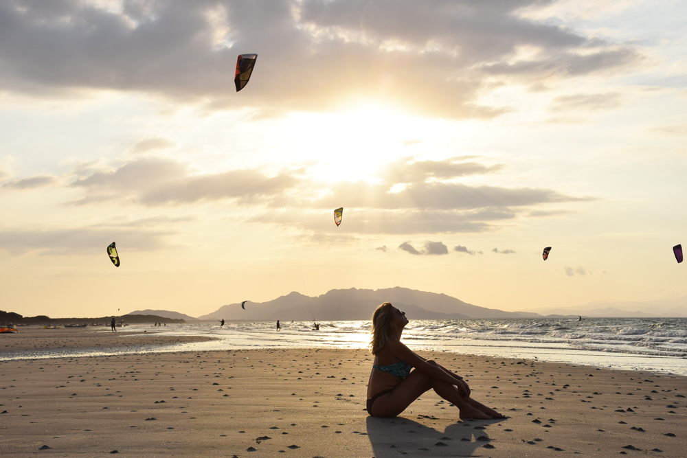 Punta Chame - praia no Panamá kitesurf