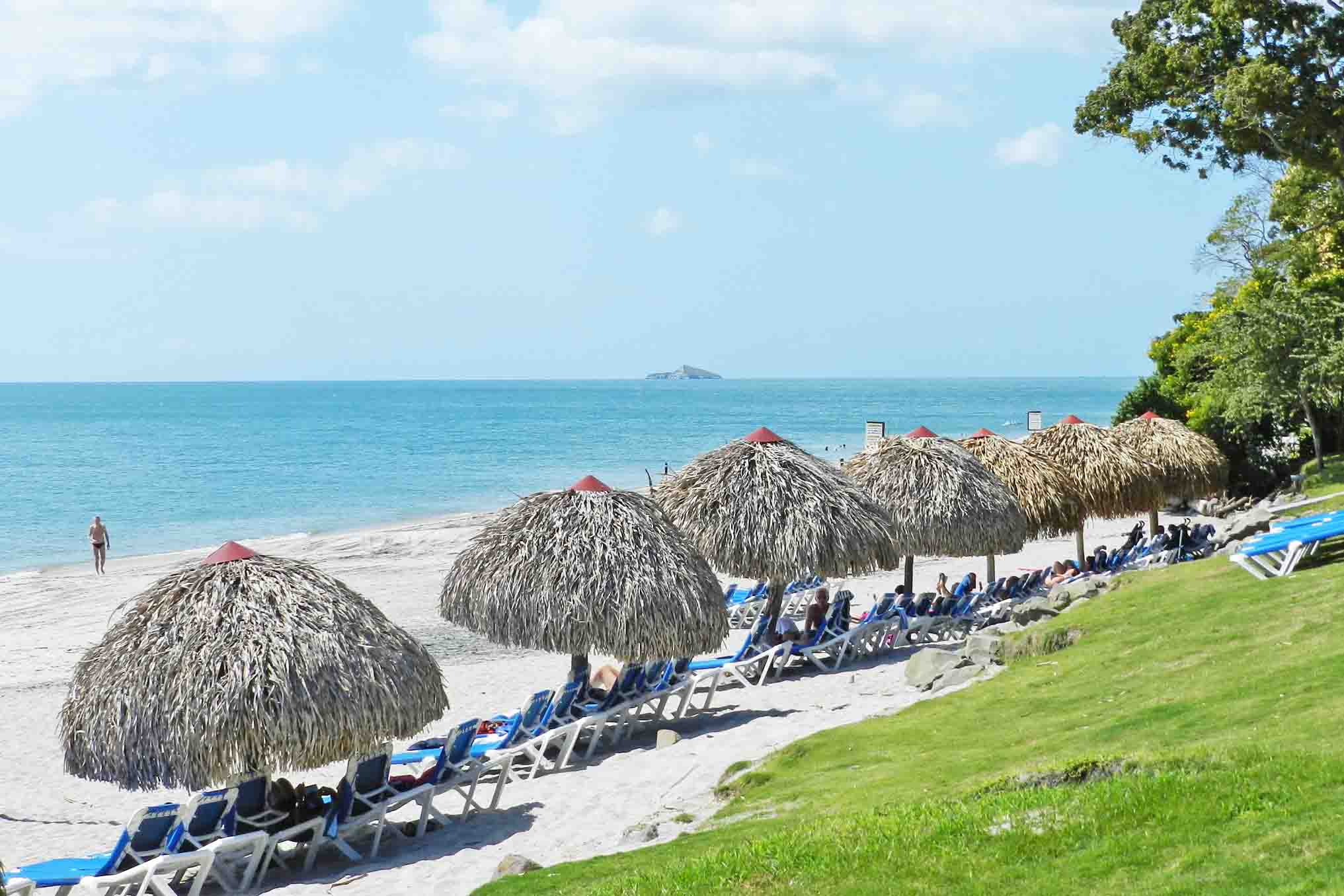 Praia de Santa Clara - praia bonita no Panamá