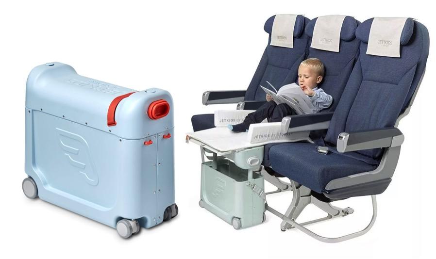 BedBox JetKids Stokke - mala de viagem de bebê - como ir mais confortável no avião