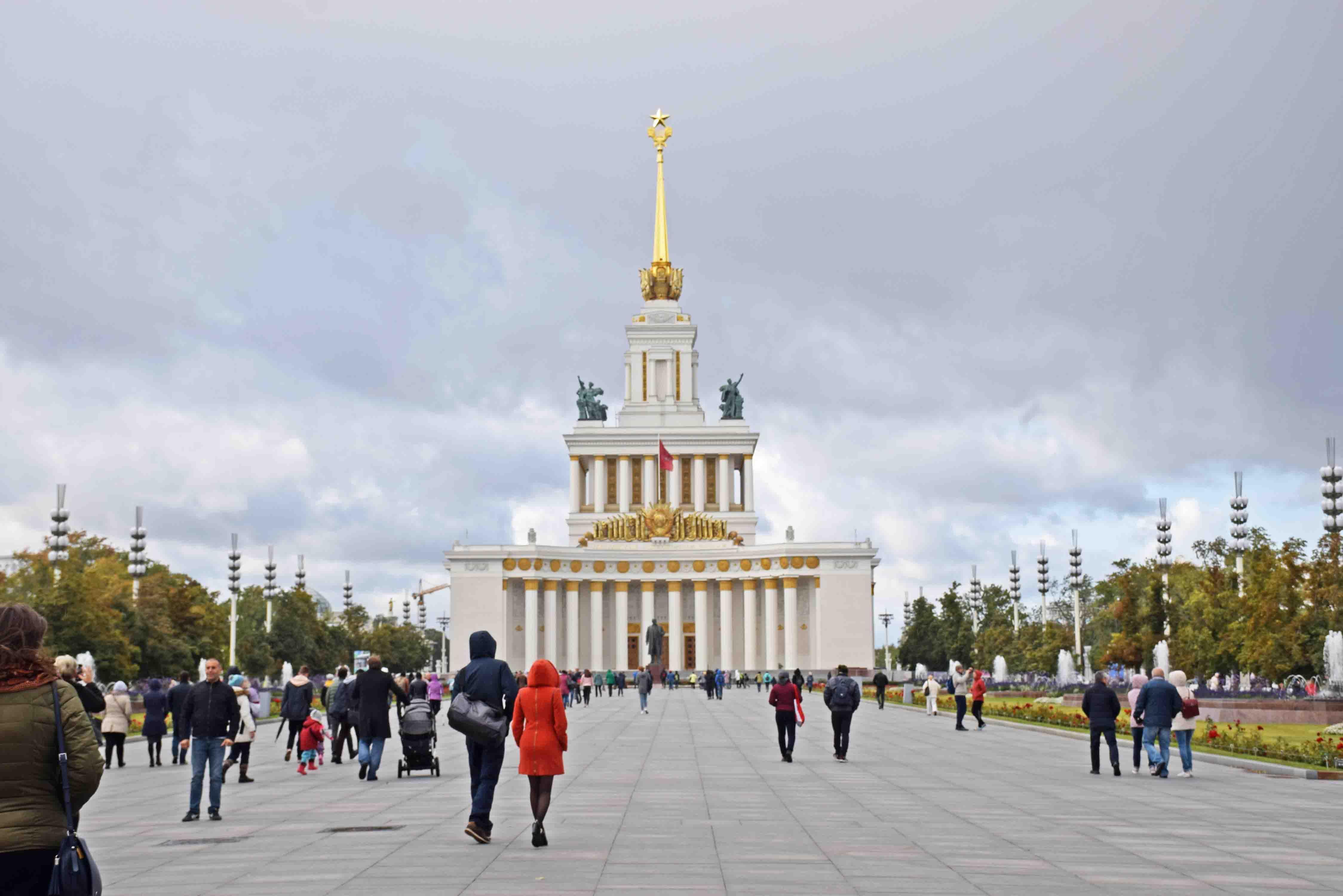 O que fazer em Moscou com crianças - parque VDNH