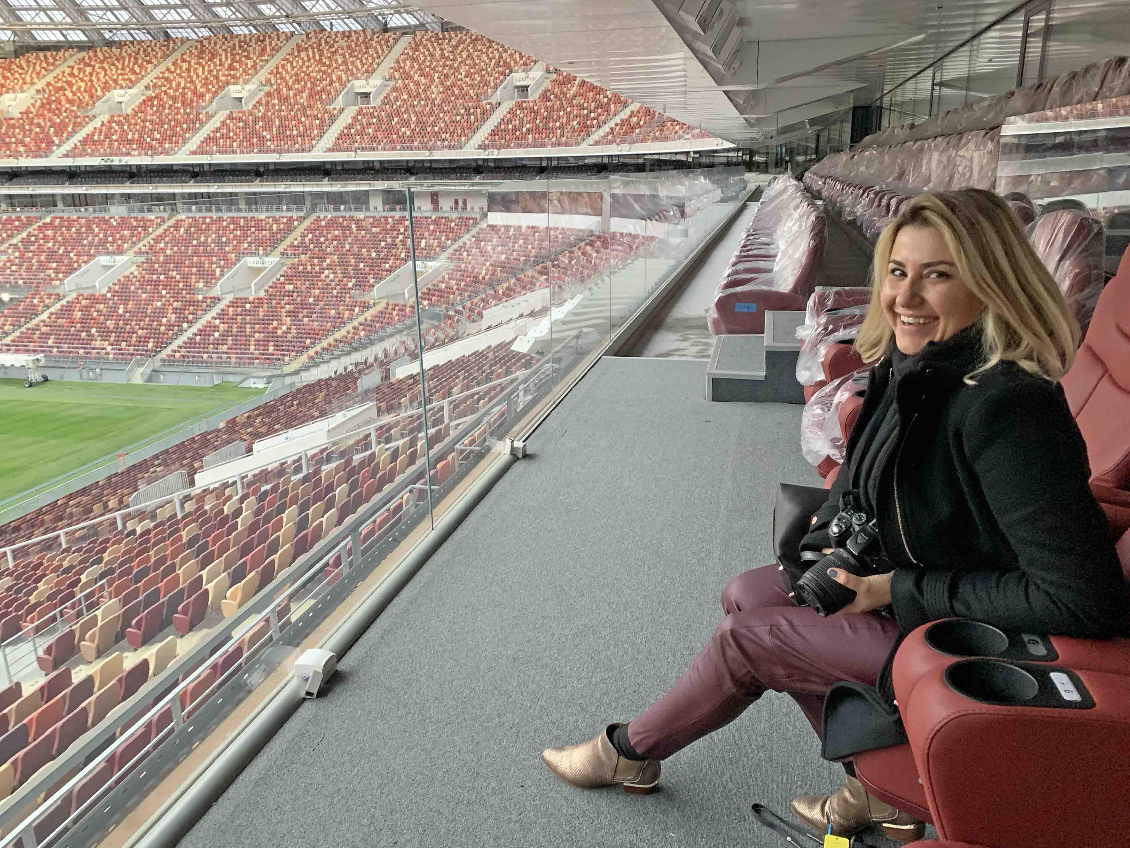 Luzhniki Stadium Moscow - tour