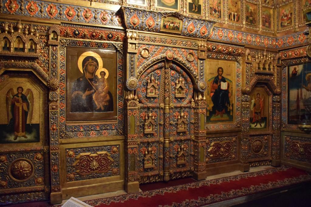 O QUE FAZER EM MOSCOU - interior catedral de são basílio