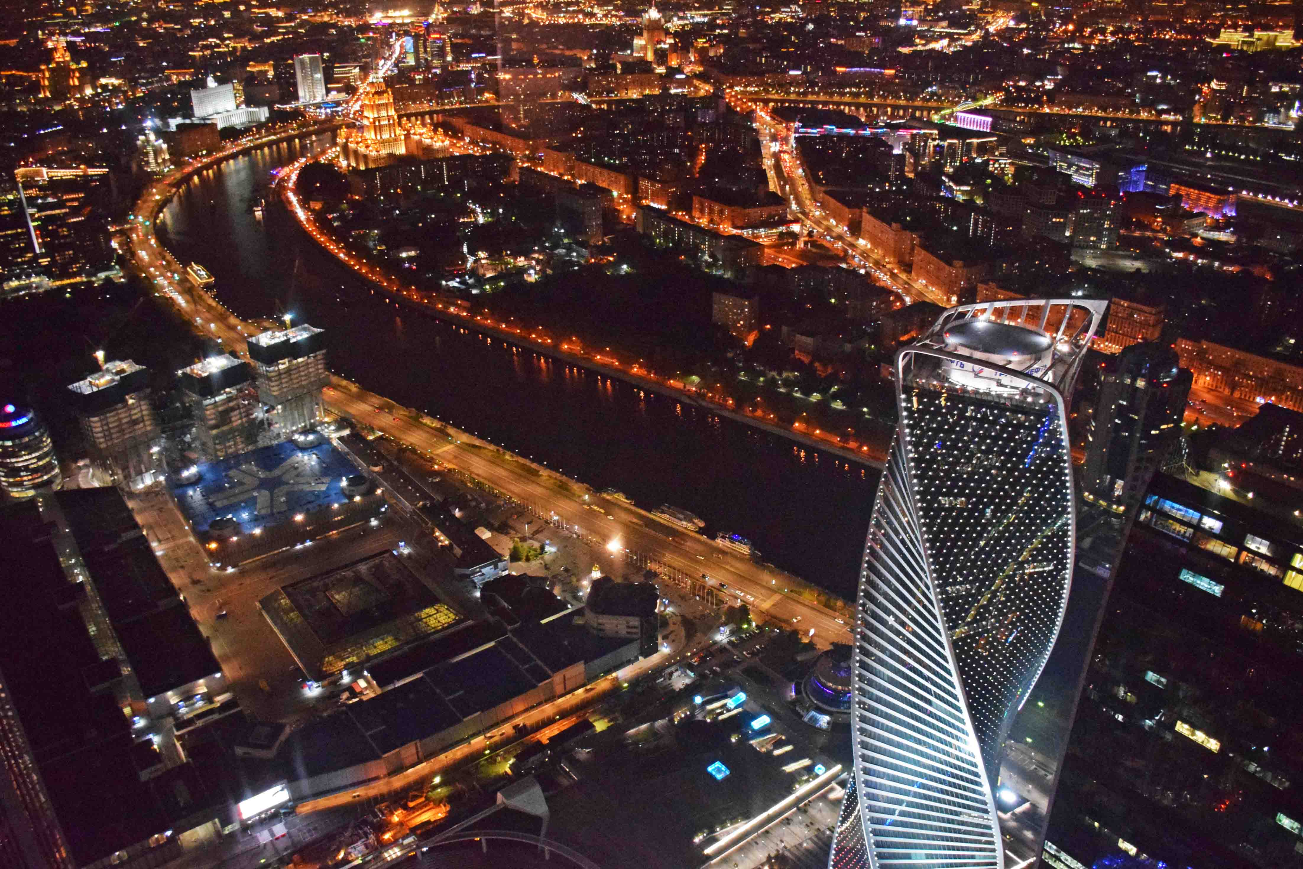 Panorama 360 - Moscow observation deck