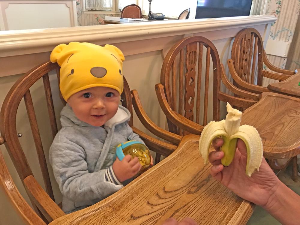 Alimentação bebê na Disney - Baby center