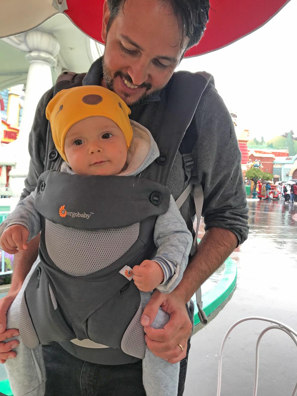 o que levar para a Disney com bebê
