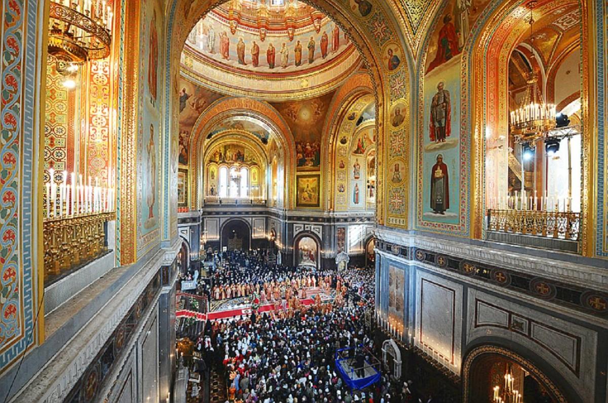 Catedral de Cristo Salvador em Moscou - visita