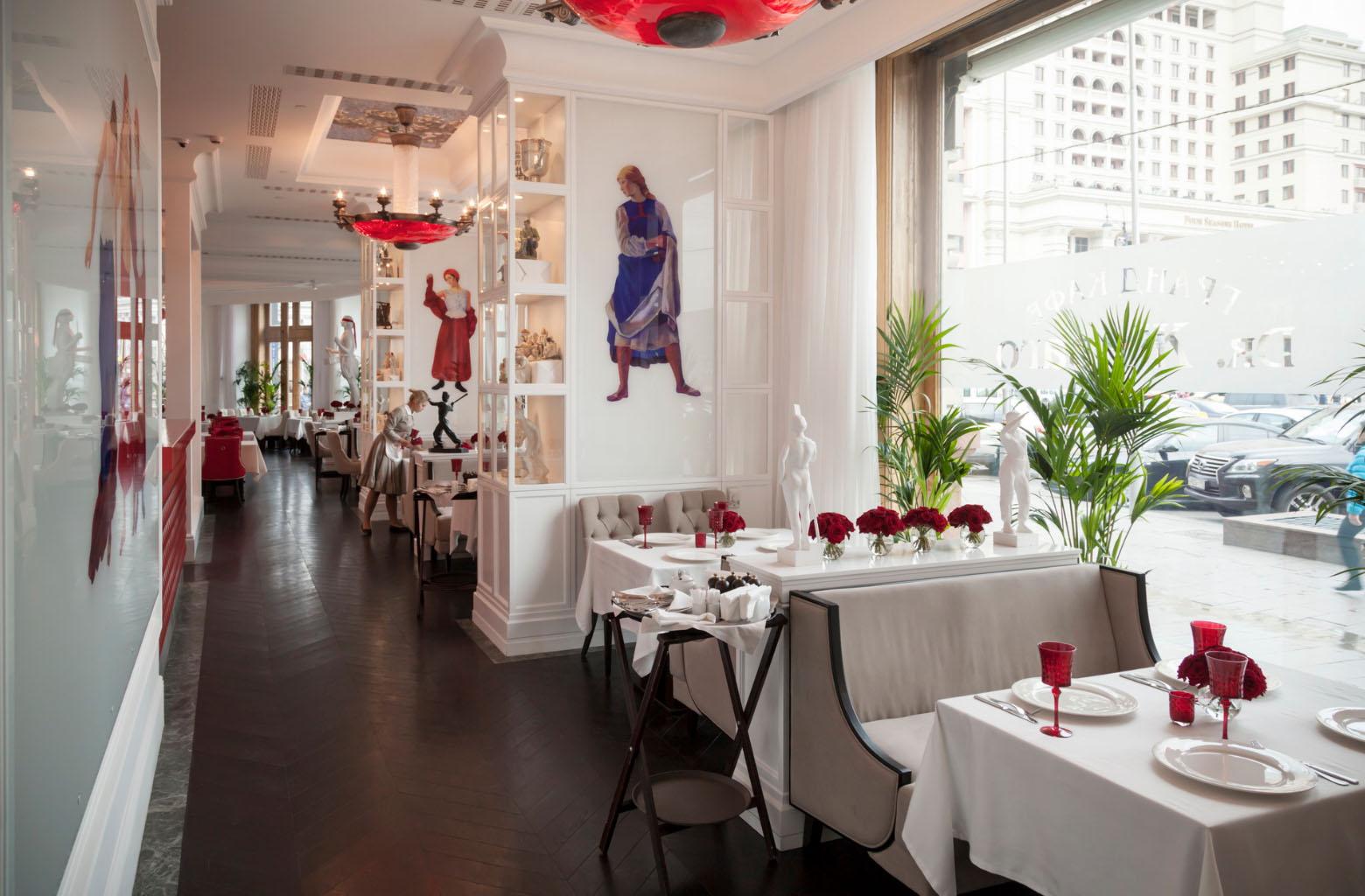 Onde comer em Moscou - restaurante Dr Zhivago