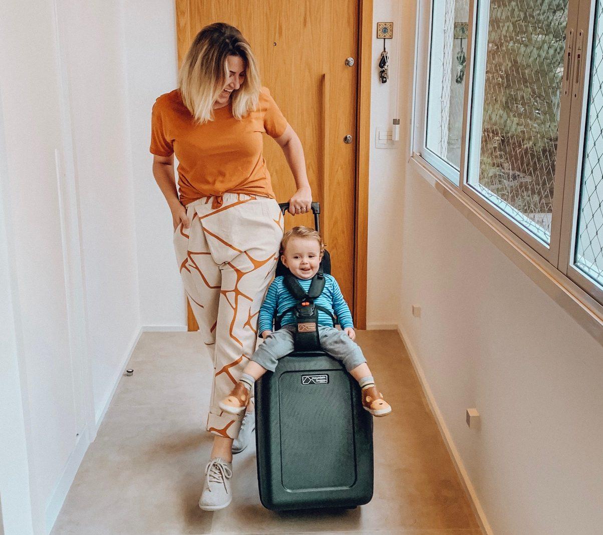 itens indispensáveis para viajar com bebê