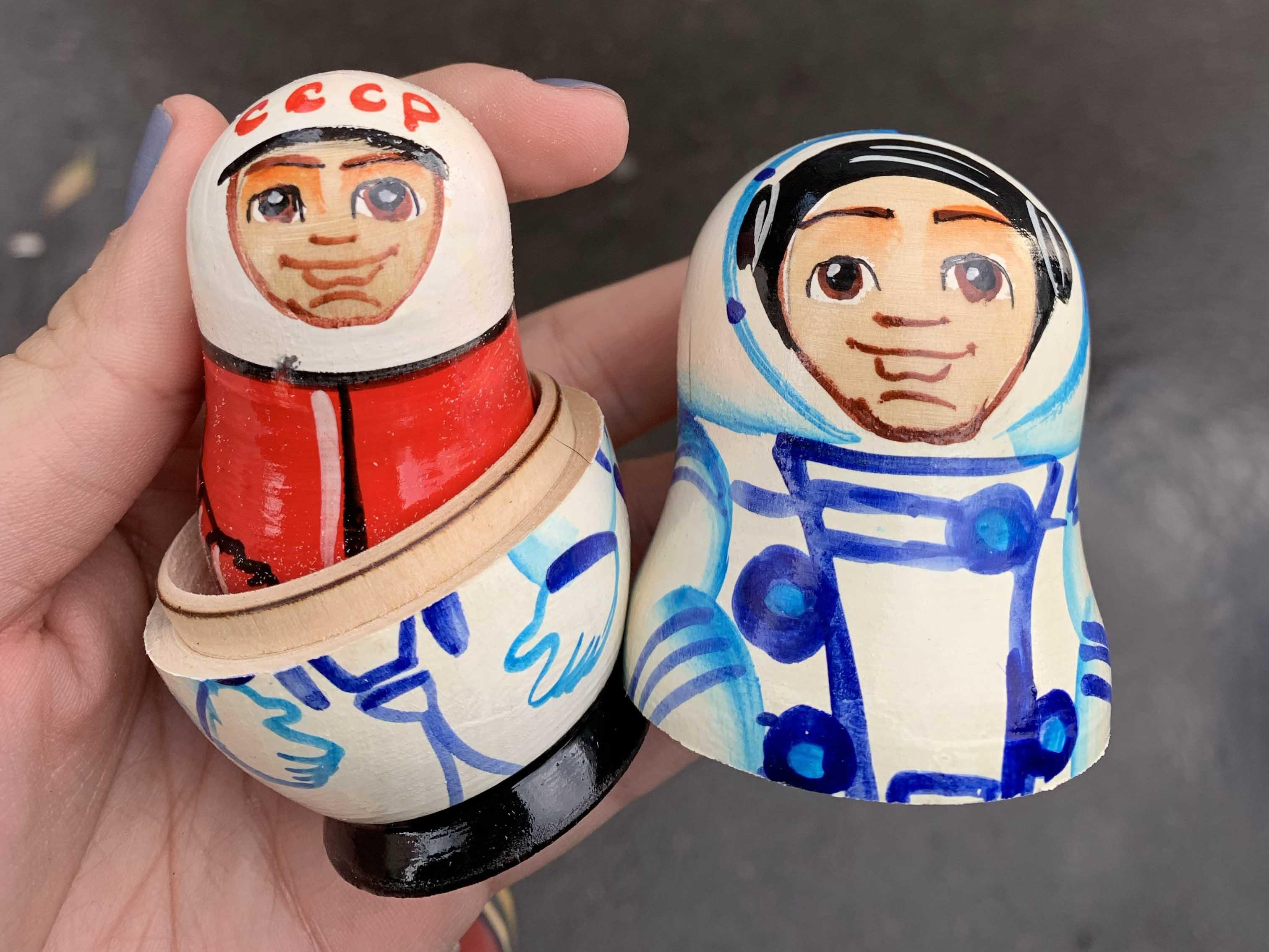 matrioshkas - souvenirs russos