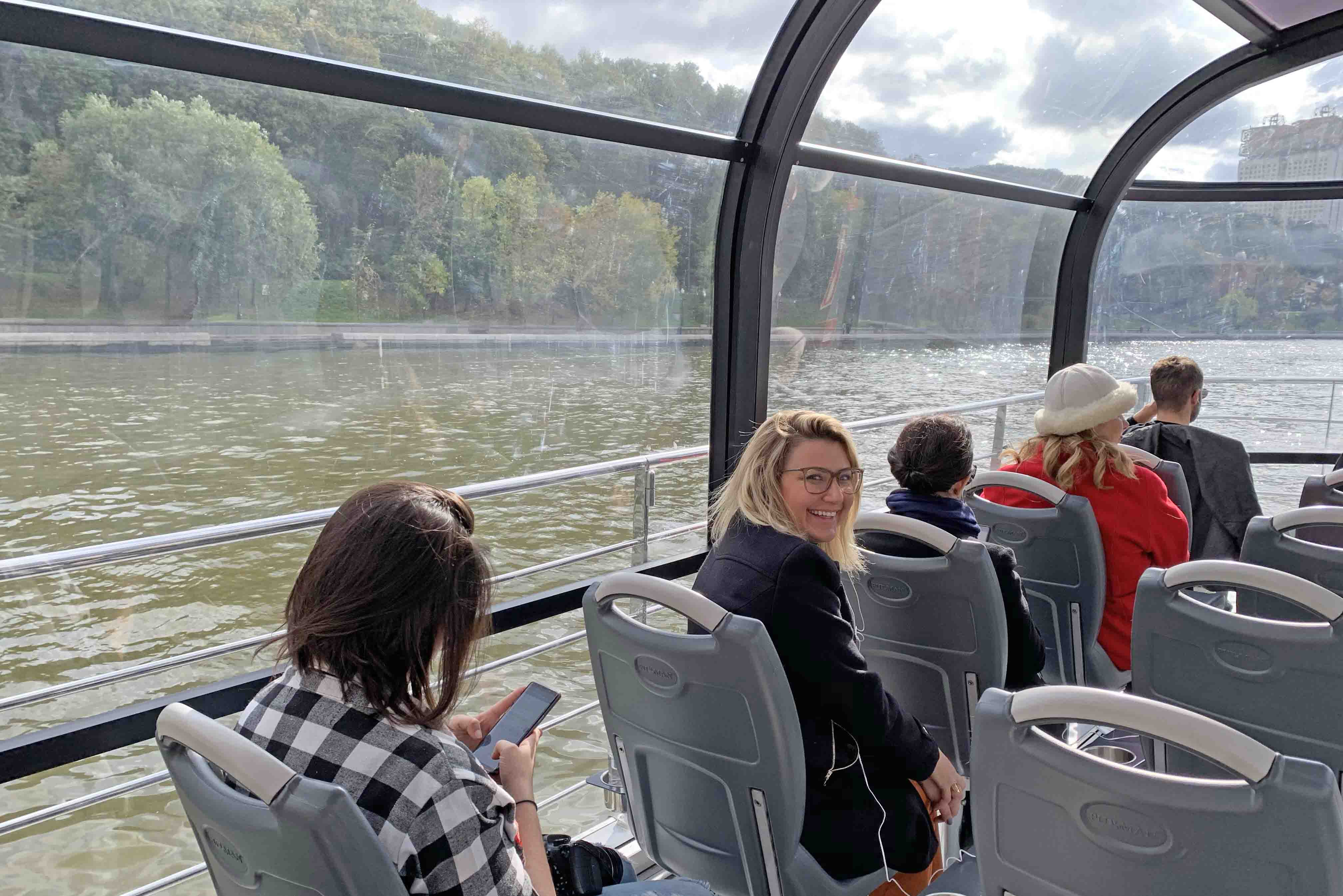 radisson - moscow river boat tour