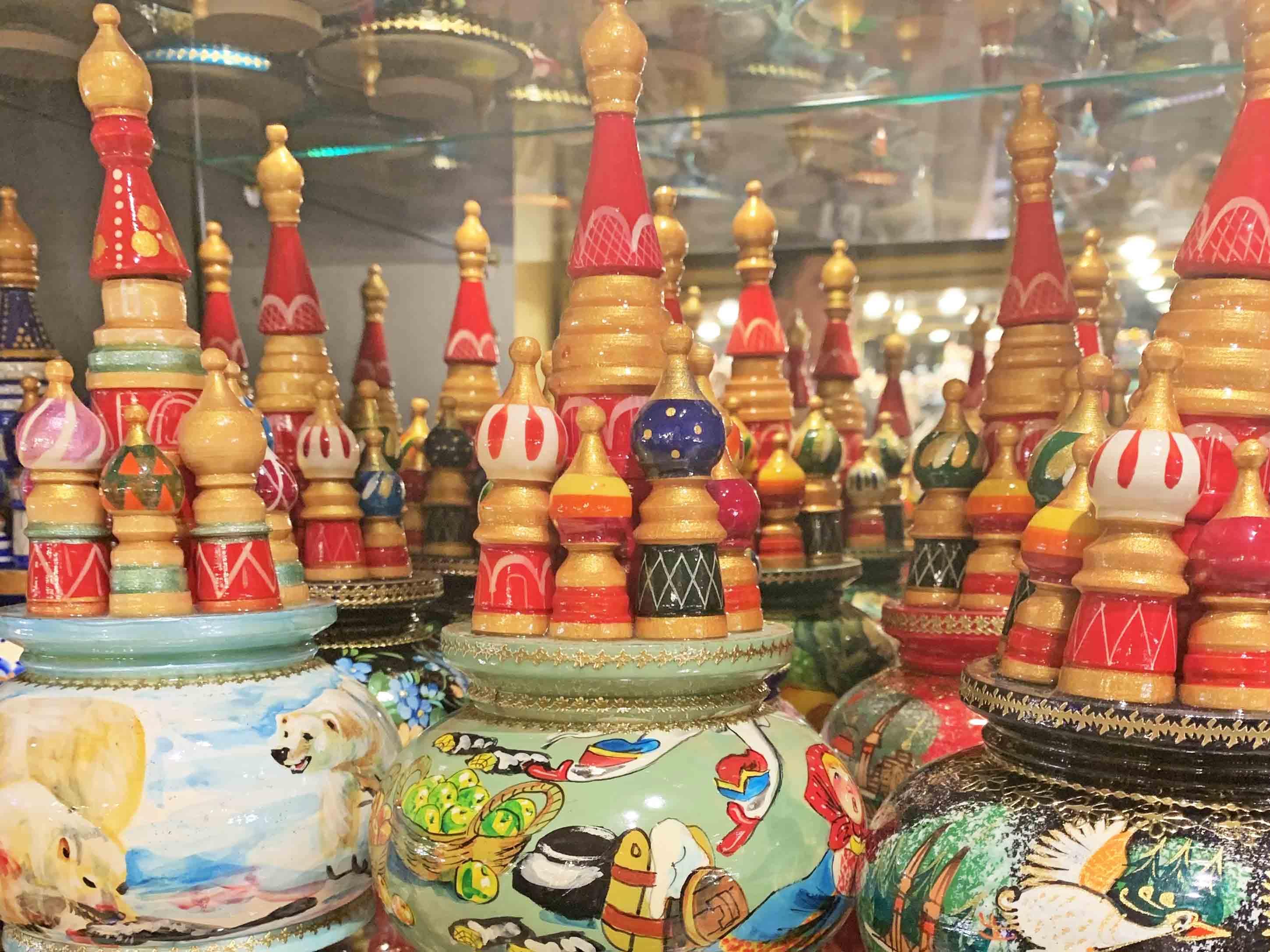 souvenirs russos