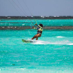 Kitesurfe nas Ilhas Virgens Britanicas - BVI - Anegada
