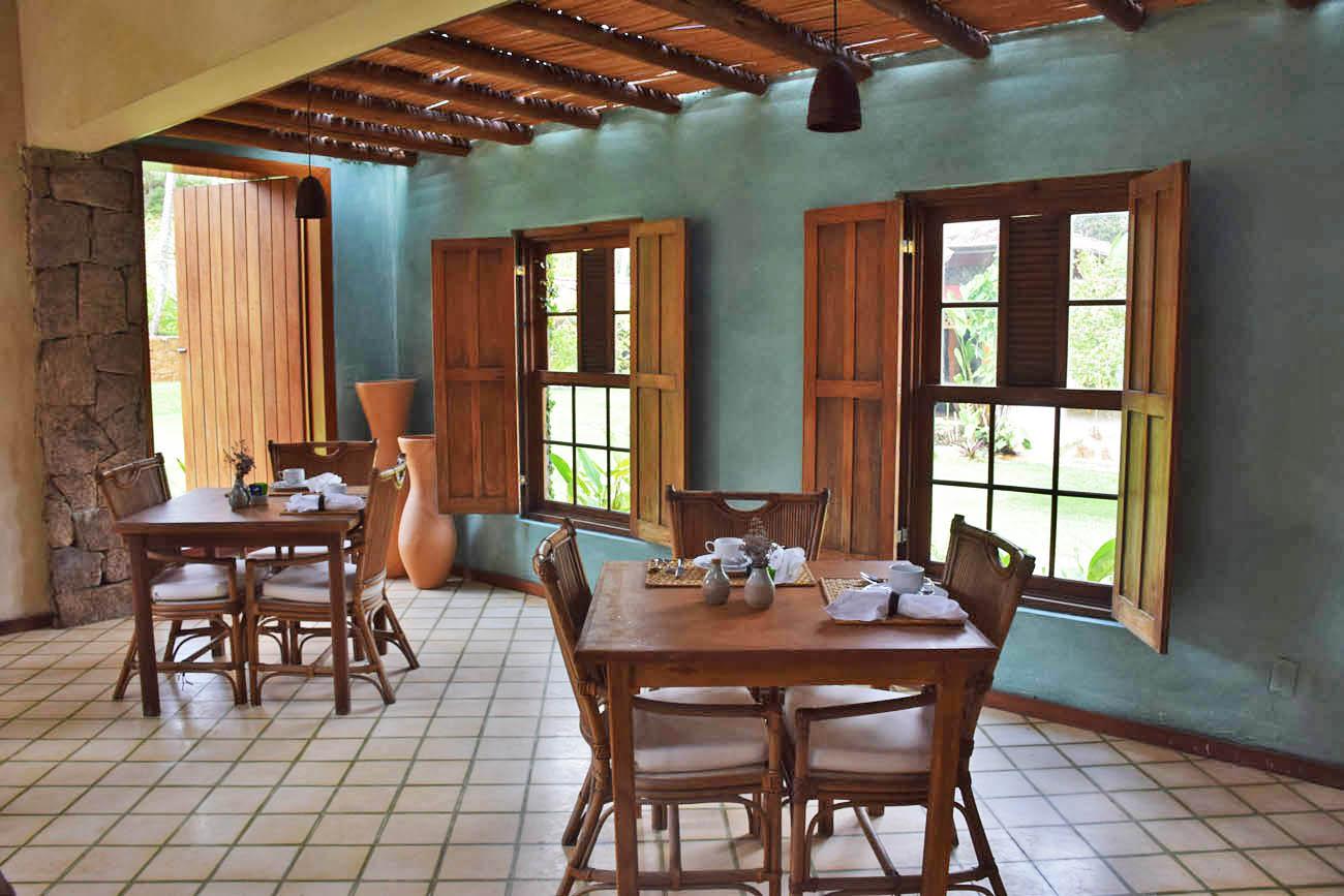Restaurante Orixás - Café da manhã e Jantar - Txai Itacaré Resort