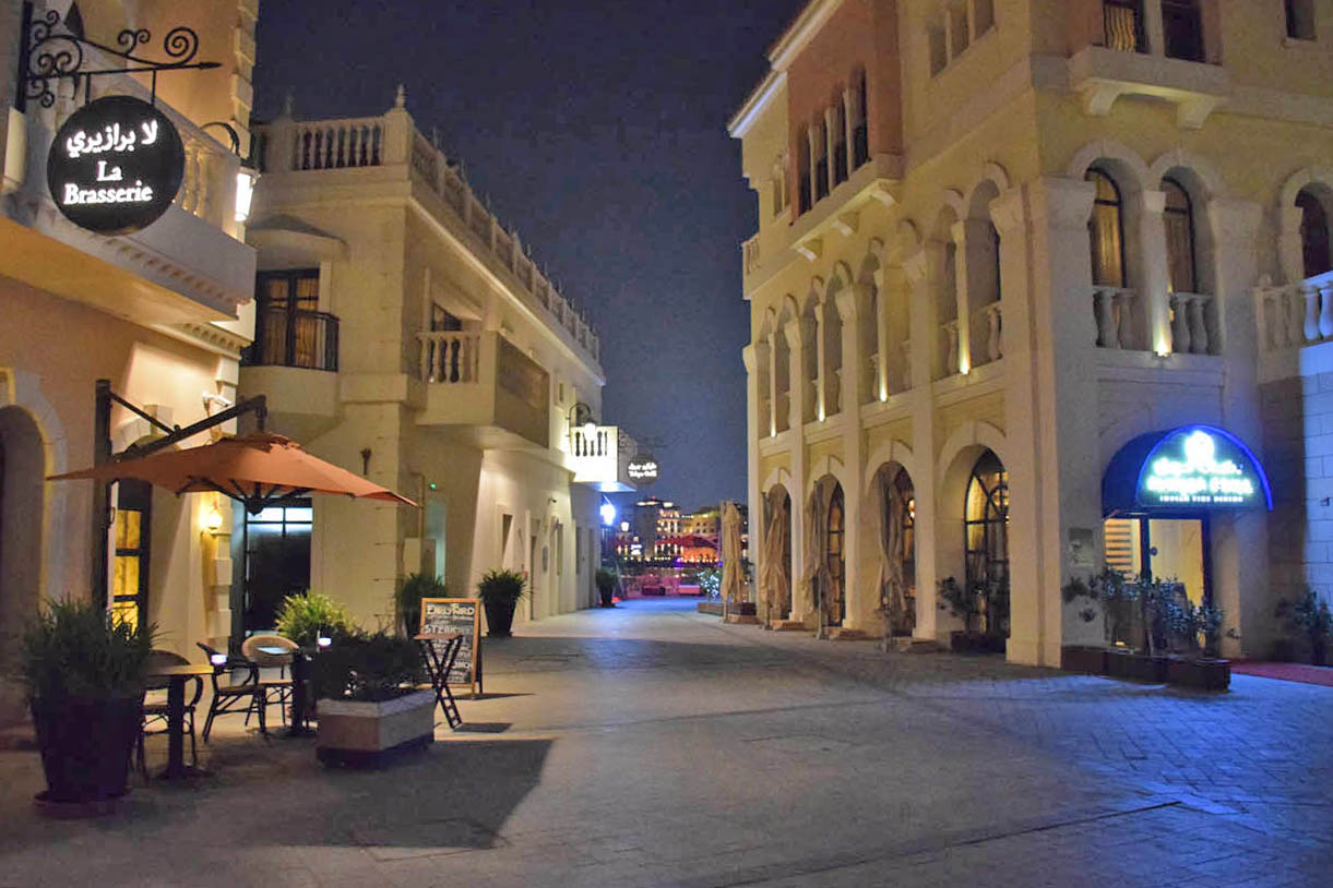 Onde comer em Abu Dhabi - Venetian Village - Ritz Carlton