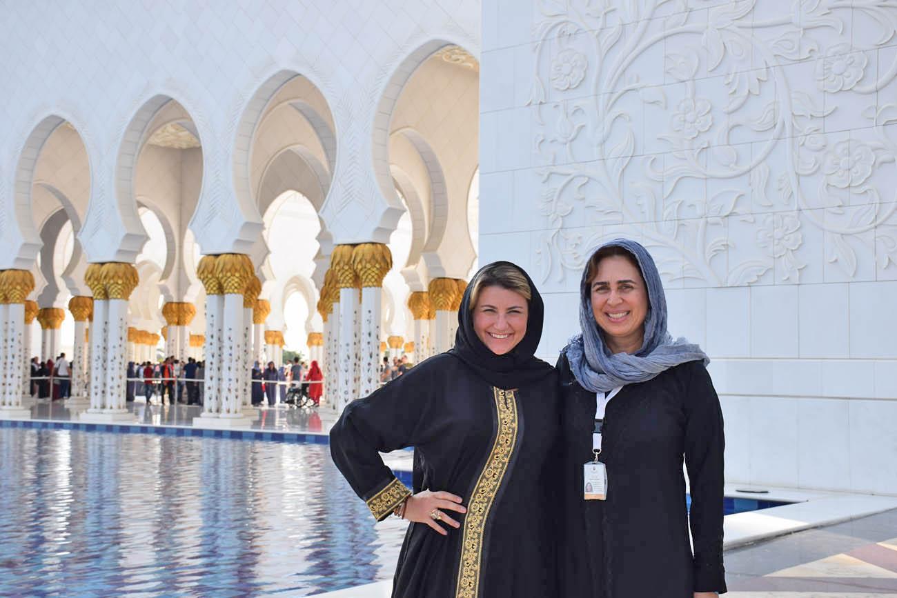 Guia brasileira em Dubai e Abu Dhabi