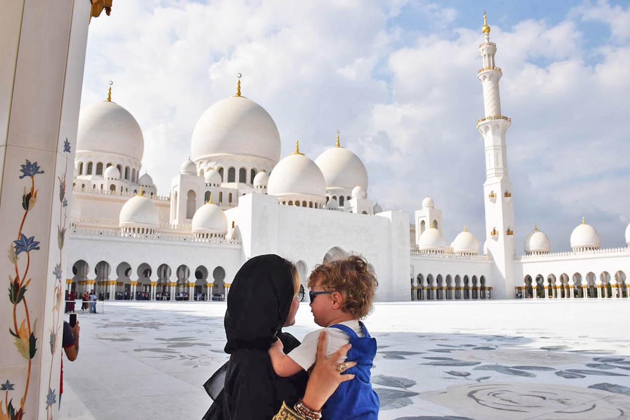 Grande Mesquita Sheikh Zayed - Abu Dhabi
