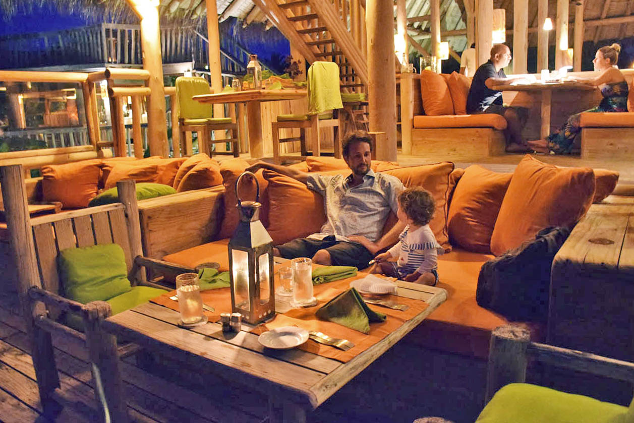 Soneva Fushi Maldives - restaurants gastronomy food - Fresh in the garden