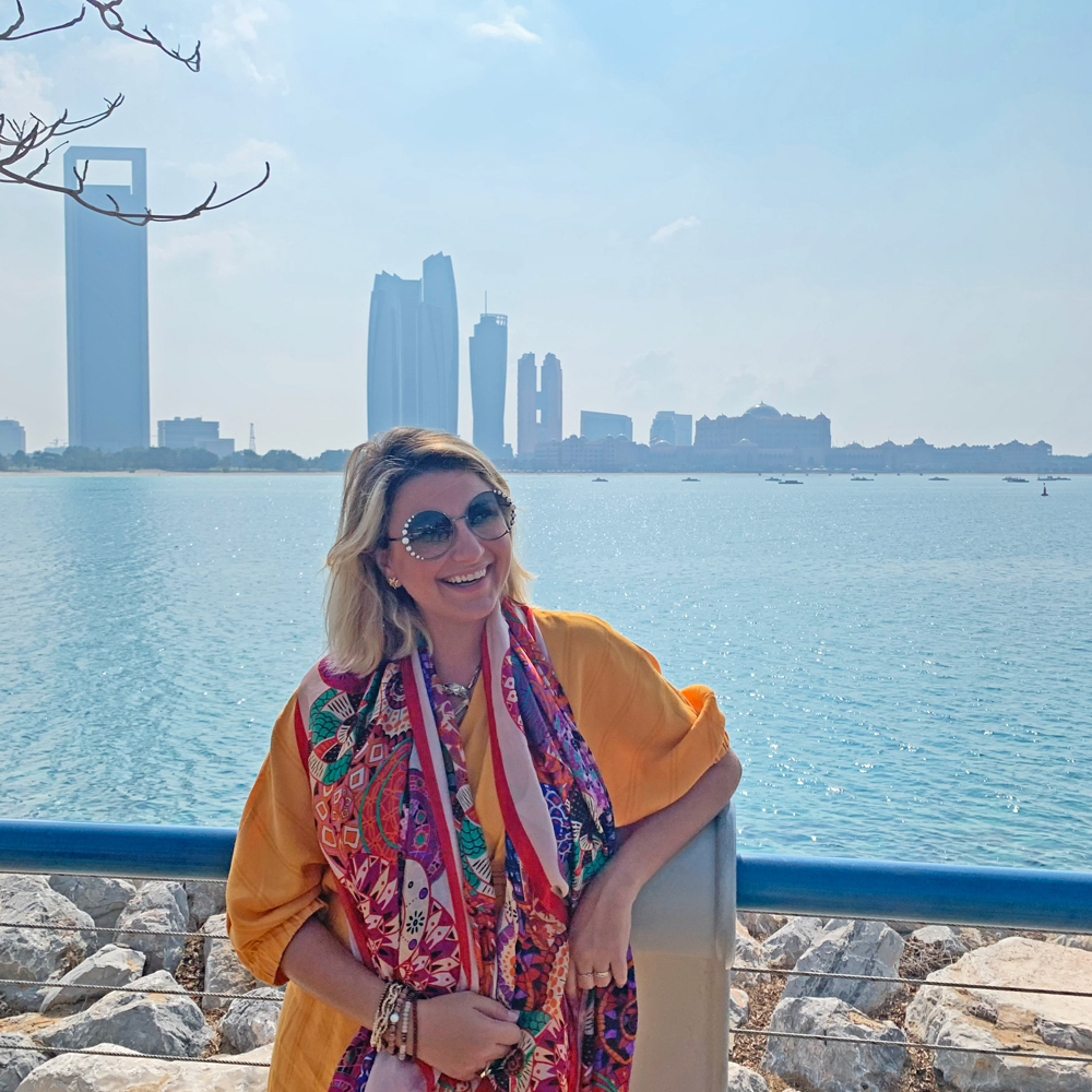 Corniche Street - avenida beira-mar de Abu Dhabi