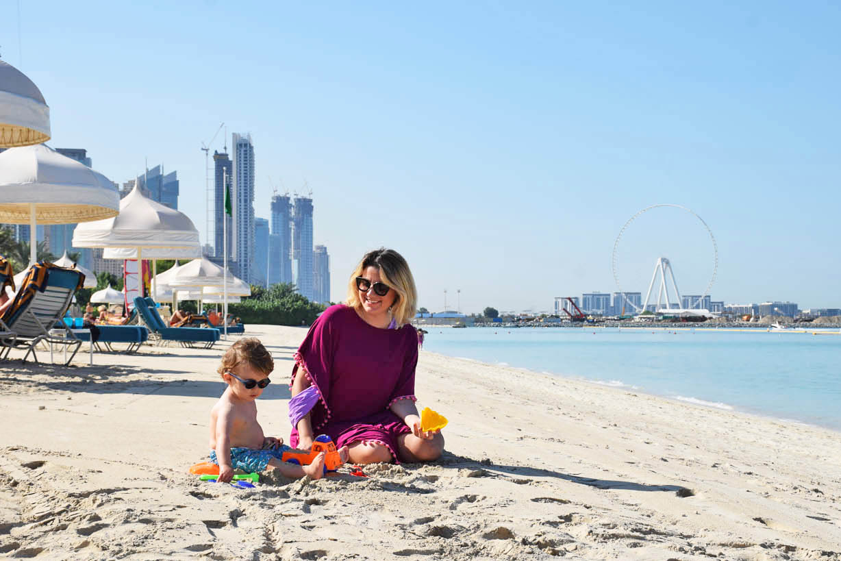 Dubai com criancas - praia One and Only Royal Mirage Resort
